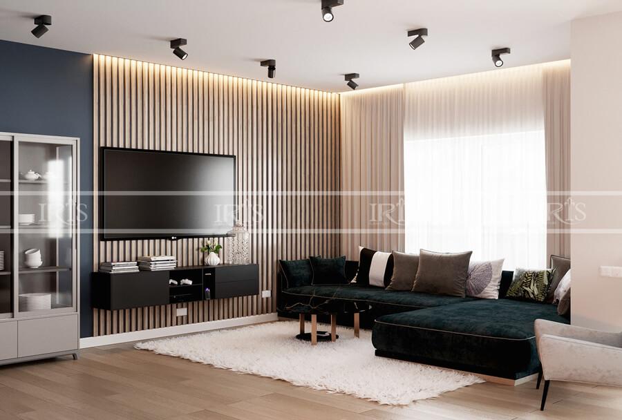 thiết kế nội thất nhà phố 16