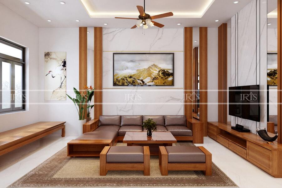 thiết kế nội thất nhà phố 5