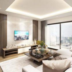 thiết kế nội thất phòng khách ava