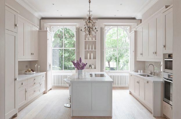 Cách thiết kế nội thất phòng bếp thêm rộng thêm xinh