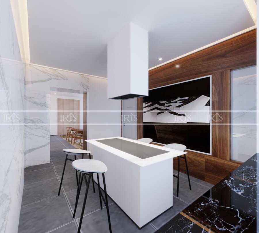 thiết kế nội thất biệt thự gỗ 6
