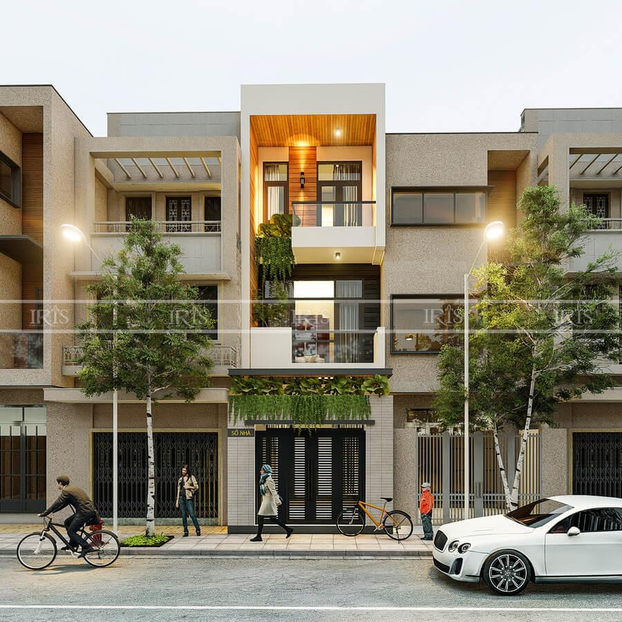 thiết kế nội thất nhà phố a