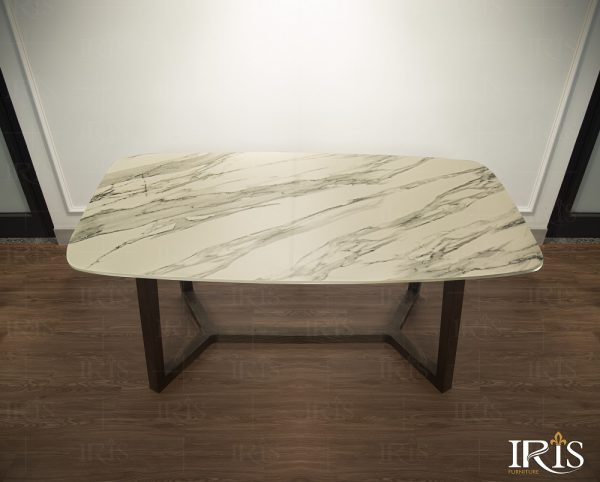 Bộ bàn ăn Concorde ghế Aki