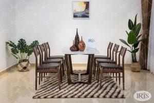 Bộ bàn ăn Concorde ghế Haruko – phong cách Nhật