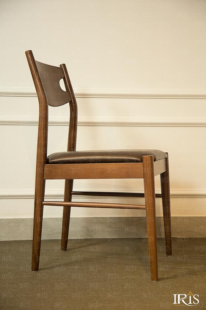 ghế ăn gỗ bọc nệm
