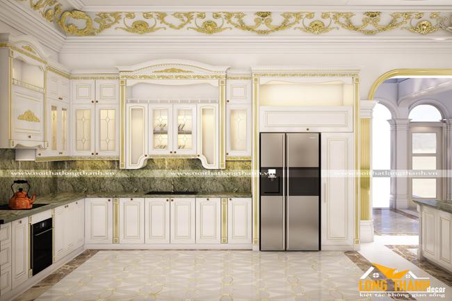 Mẫu tủ bếp 3