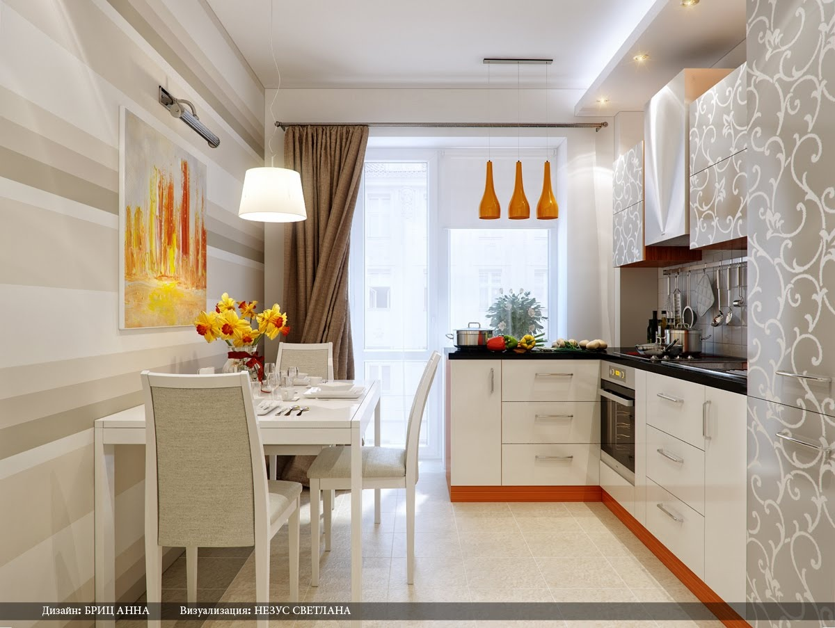 Mẫu tủ bếp 4