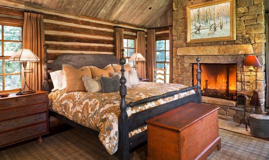 phòng ngủ gỗ
