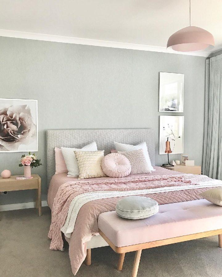 phòng ngủ pastel