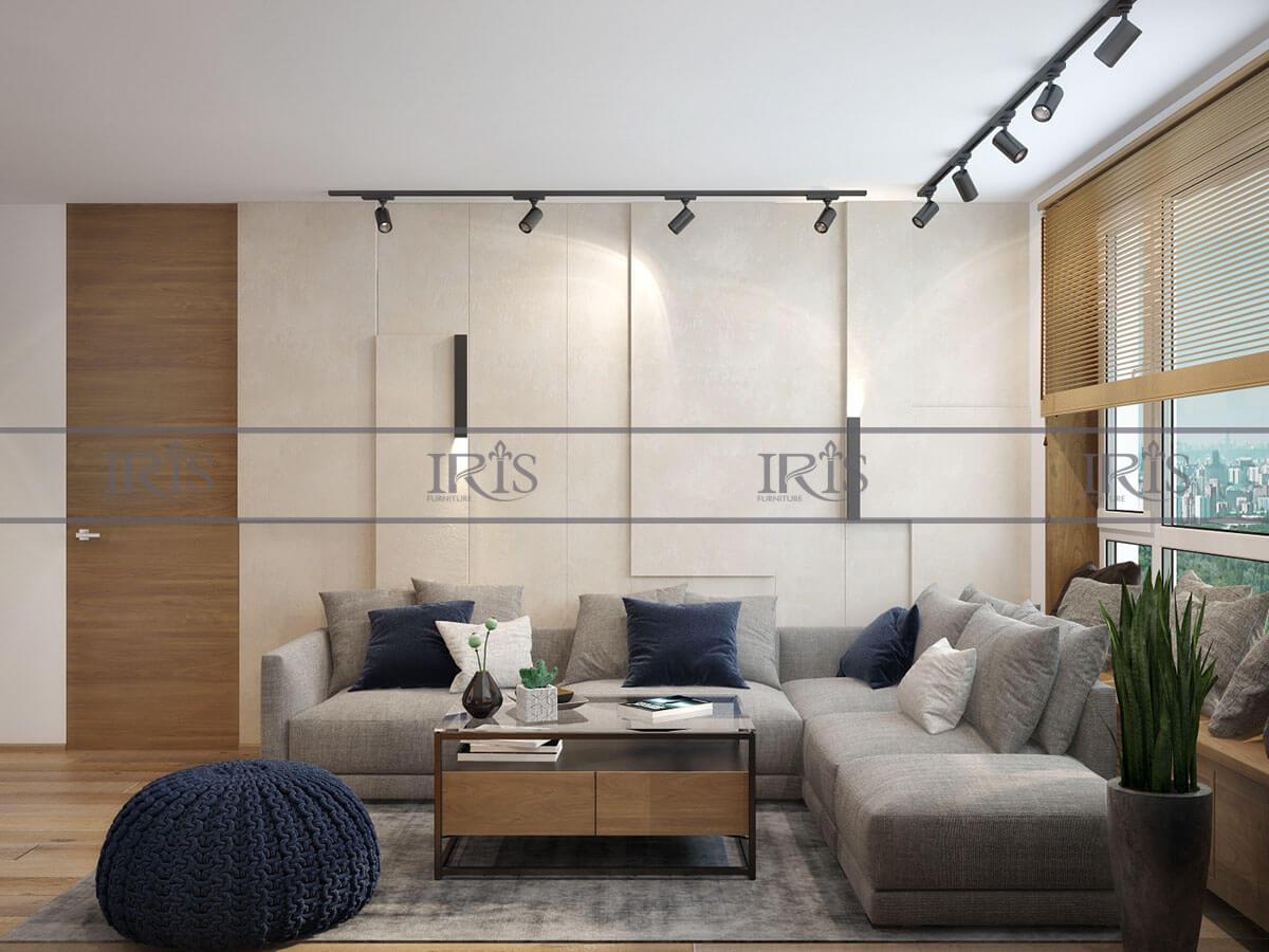 phong cách phòng khách hiện đại 5