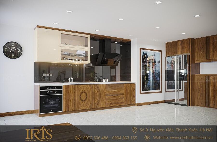 phong cách phòng khách hiện đại gỗ tự nhiên 2