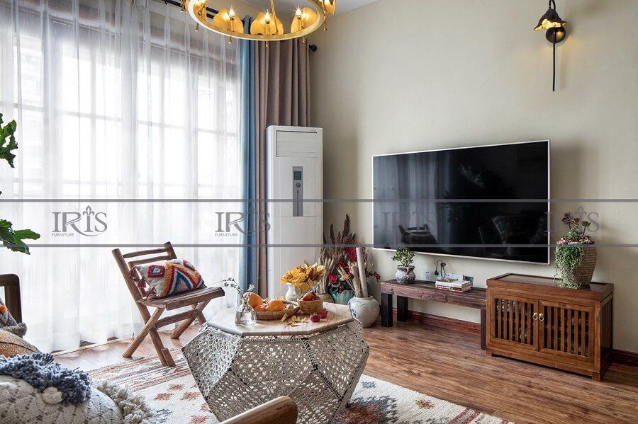phong cách phòng khách vintage 3