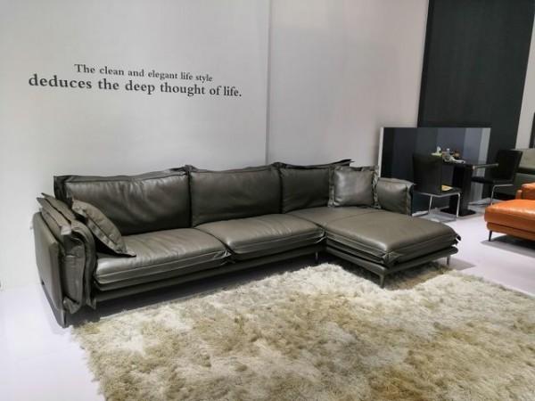 sofa da chữ l