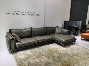 Sofa da bò thật: Giá trị thẩm mỹ nâng tầm đẳng cấp