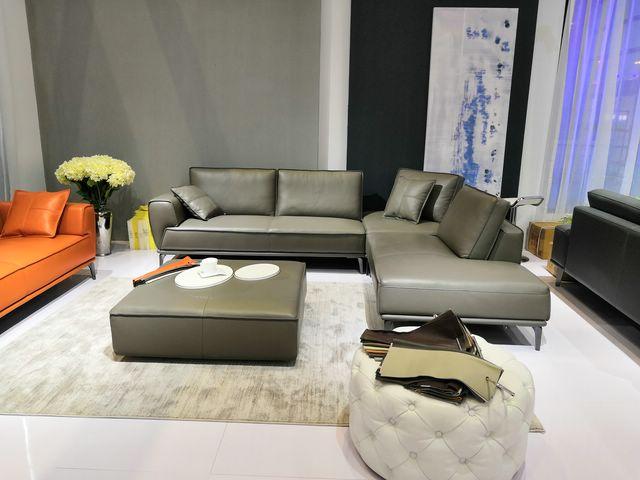 sofa da kiểu nhật