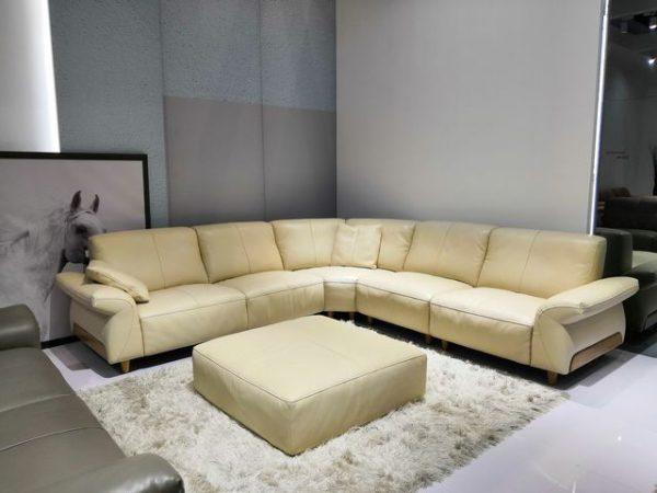 sofa da thật 08