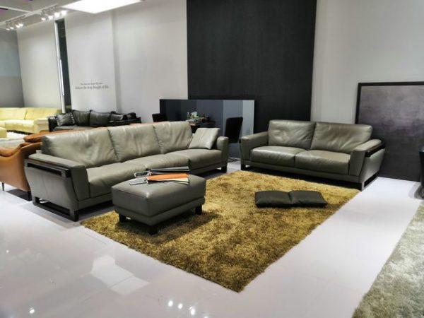 Ghế sofa da hiện đại