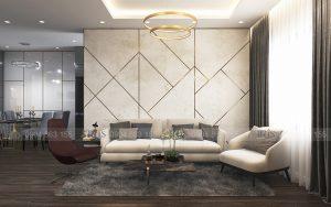 Thiết kế nội thất Chung cư Gold Season – Hiện Đại & Khác Biệt
