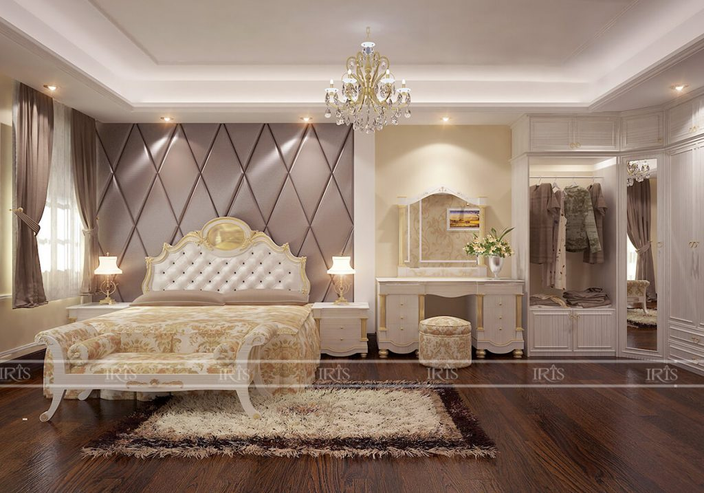 Tư vấn từ A – Z cho Thiết kế nội thất phòng ngủ đẹp rộng rãi