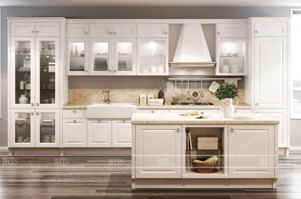 Bộ sưu tập 100 mẫu Tủ bếp Tân cổ điển sang trọng cho Biệt thự