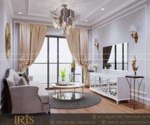Thiết kế nội thất chung cư Bán cổ điển – TP Hạ Long