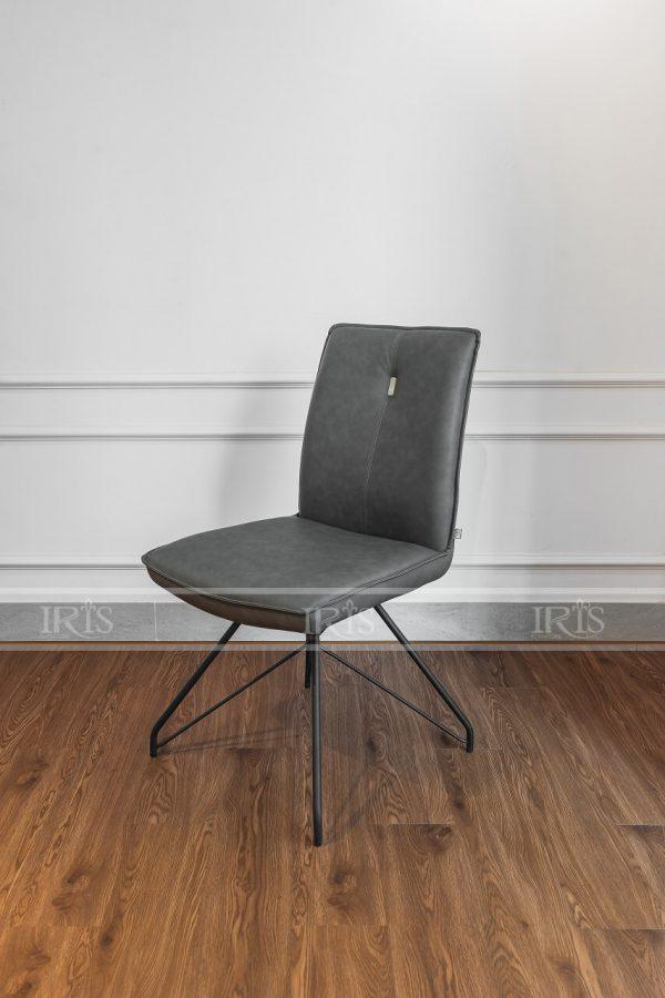 Ghế ăn bọc da cao cấp HD9209 Grey