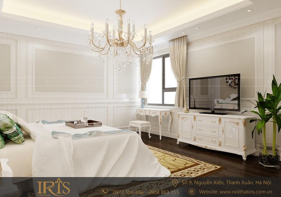 Thiết kế nội thất chung cư Tân cổ điển 10
