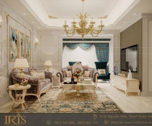 Thiết kế nội thất chung cư Tân cổ điển – Vinhomes Greenbay