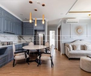 Thi công nội thất chung cư Bán cổ điển – Hạ Long