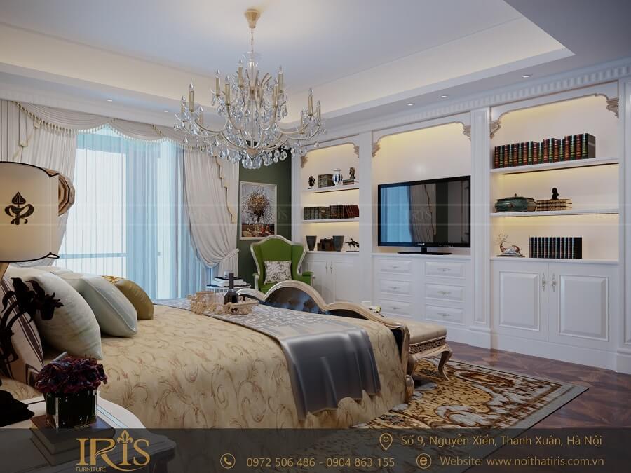 Thiết kế nội thất chung cư Tân cổ điển 7