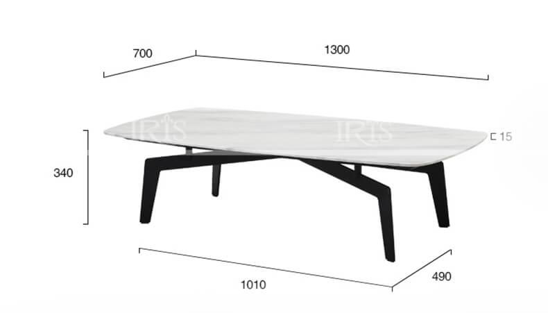Bàn trà Sofa mặt đá 215 - 2