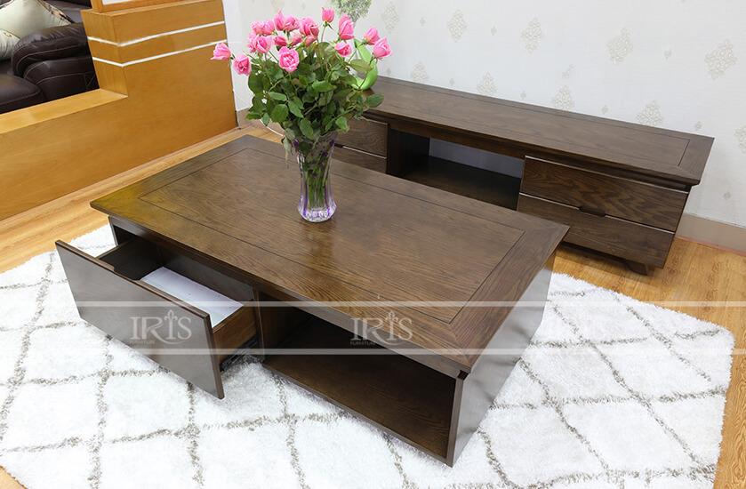 Bàn ghế gỗ phòng khách hiện đại 230 - 1