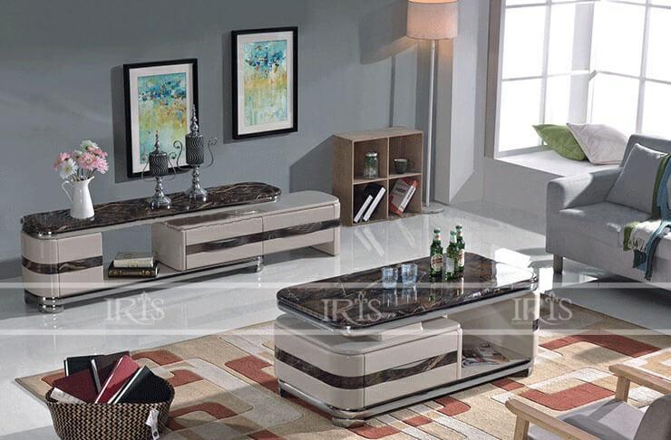 Bàn Sofa mặt đá - 277 - 1