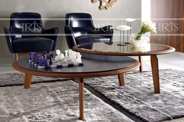 Bàn Sofa mặt kính - 307