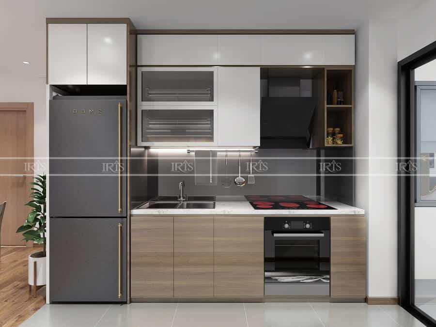 Thiết kế nội thất Phòng bếp diện tích nhỏ 11
