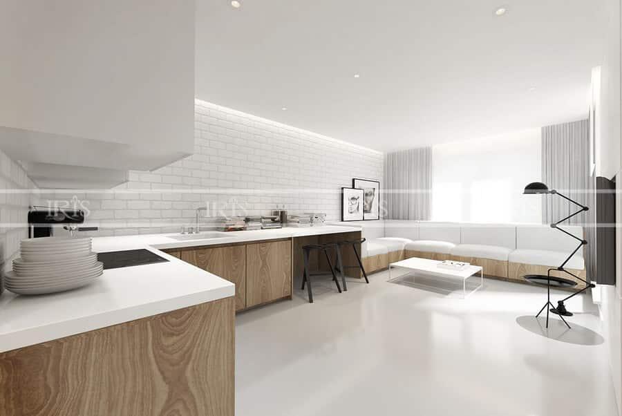 Kitchen diện tích nhỏ