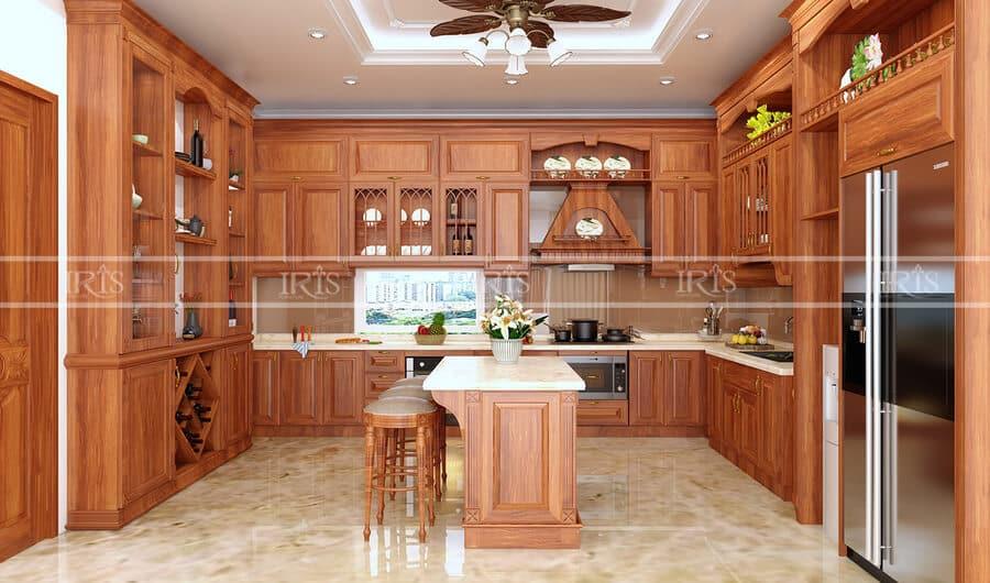 Kitchen Gỗ tự nhiên 33