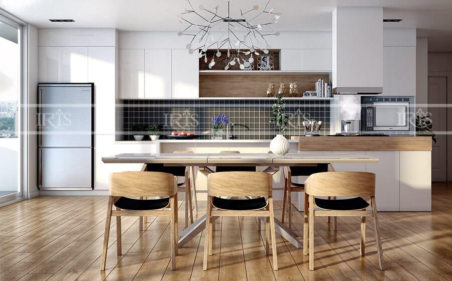 Thiết kế nội thất Phòng bếp hiện đại 16