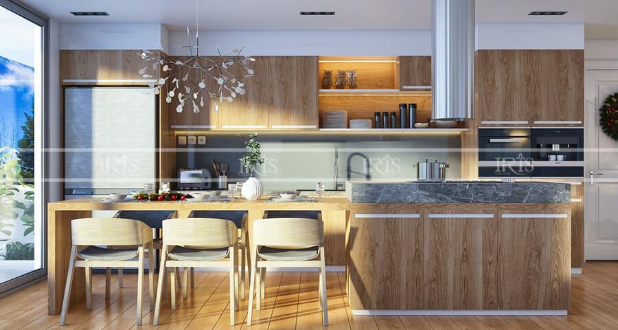 Thiết kế nội thất Phòng bếp hiện đại 17
