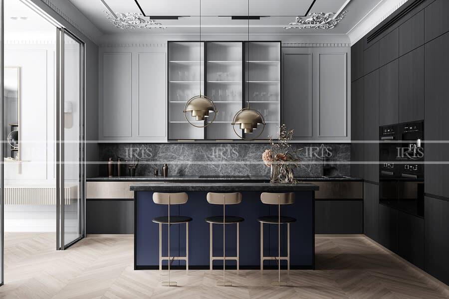 Thiết kế nội thất Phòng bếp Thiết kế nội thất Phòng bếp minimalist