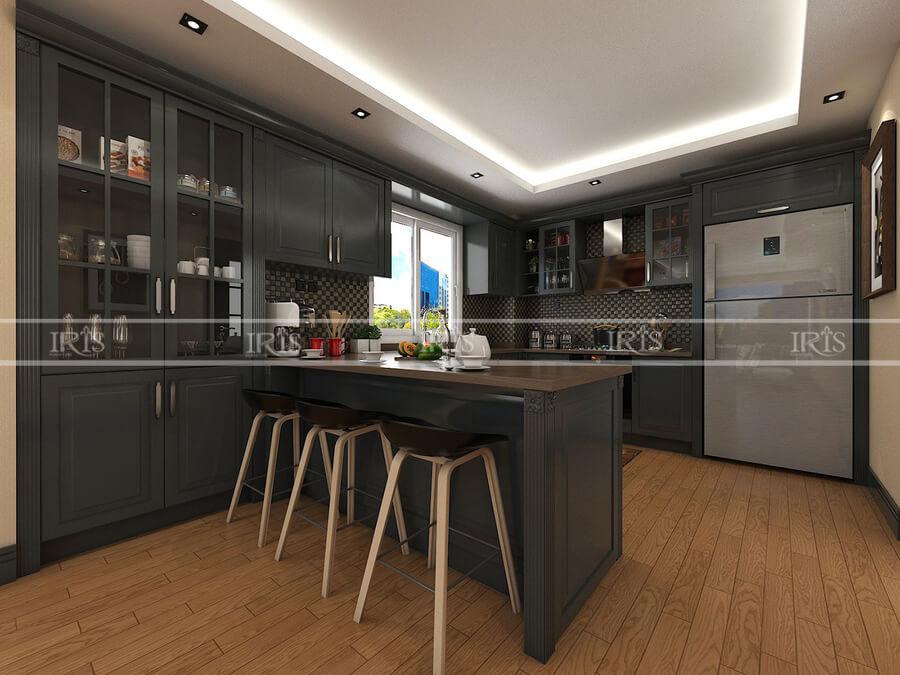 Thiết kế nội thất Phòng bếp sang trọng 08