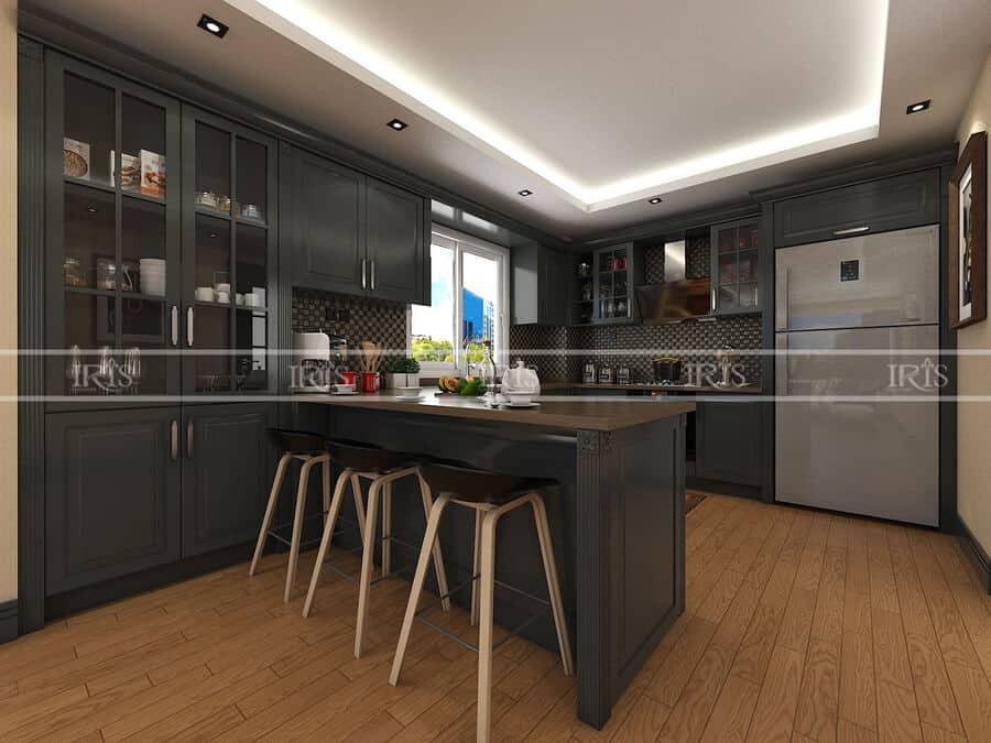 Kitchen sang trọng 8