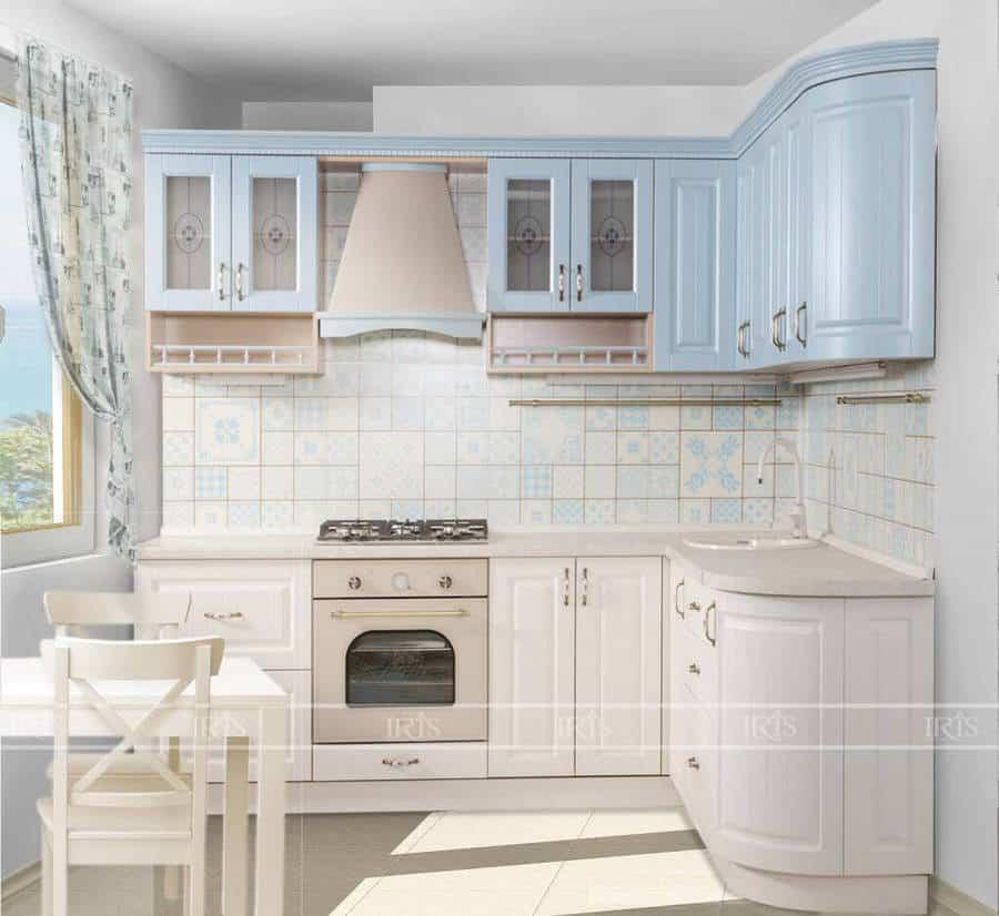 Thiết kế nội thất Phòng bếp Tân cổ điển 3