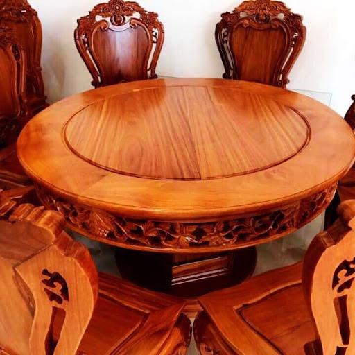 bàn ăn gỗ gõ đỏ