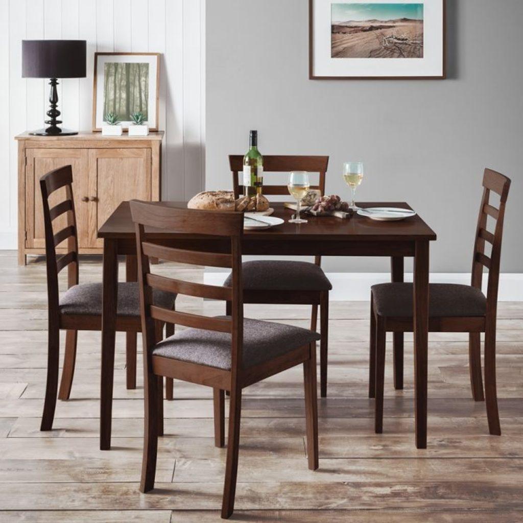 bàn ăn gỗ gụ
