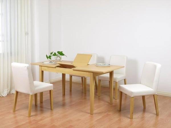 bàn ăn gỗ kéo dài
