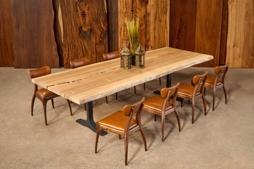 bàn ghế ăn gỗ gụ