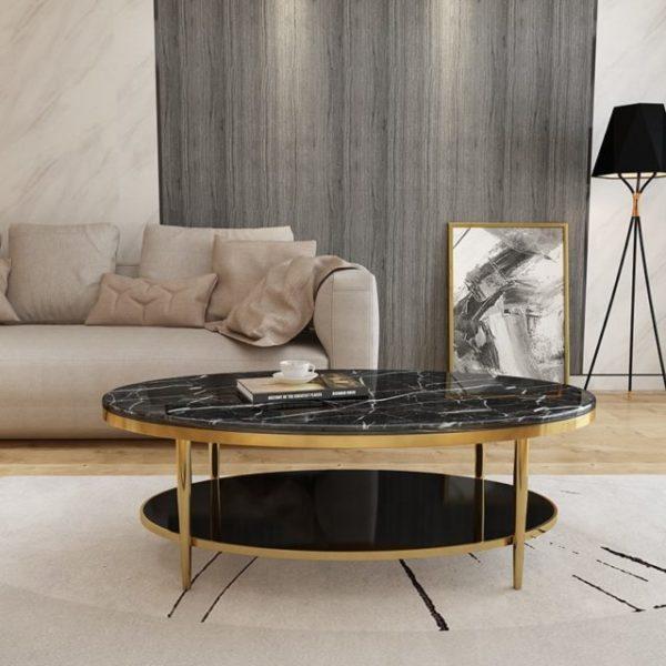 Bàn trà sofa phòng khách BT PVD318