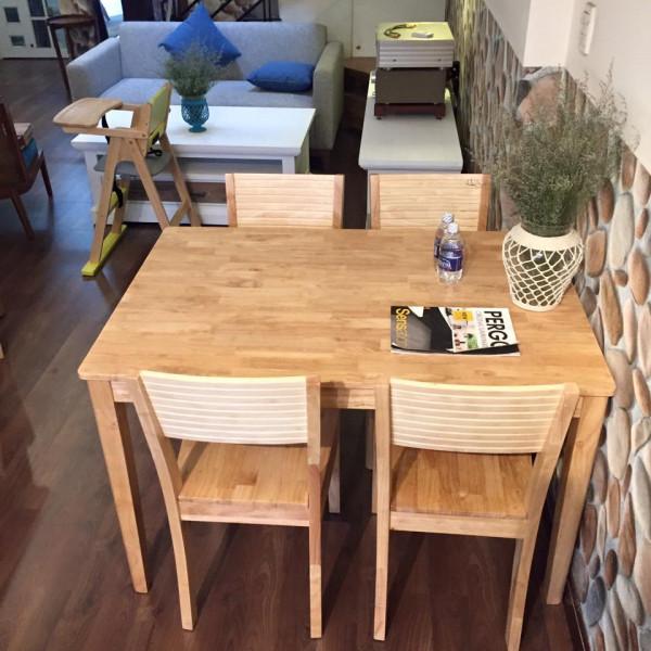 bàn ăn gỗ thông pallet
