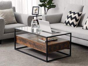 Bàn kính sofa – Xu hướng nội thất hiện đại và sang trọng phù hợp với mọi không gian